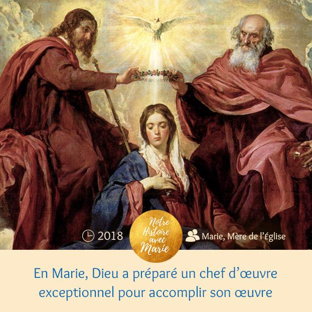 """Institution de la Fête """"Marie, Mère de l'Eglise Chef-doeuvre"""