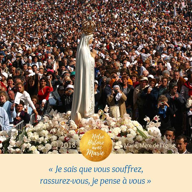 """Institution de la Fête """"Marie, Mère de l'Eglise Pense%CC%81e"""