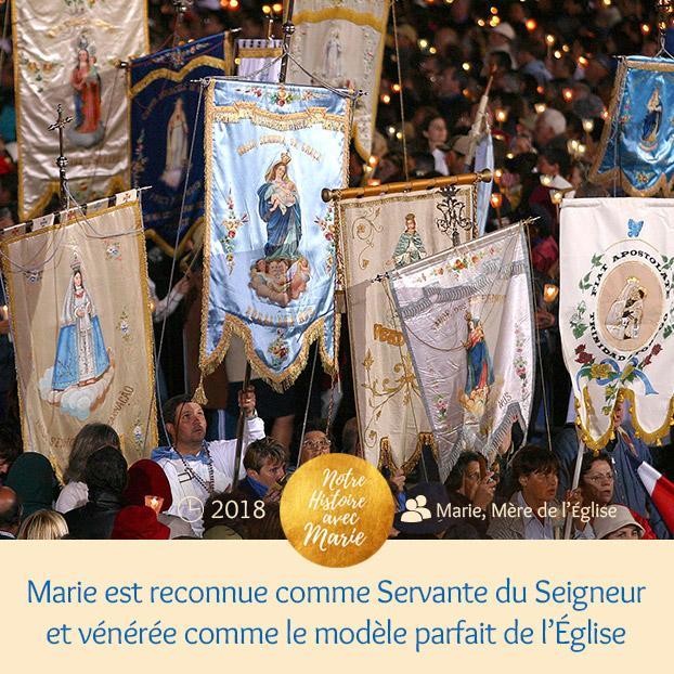 """Institution de la Fête """"Marie, Mère de l'Eglise Ve%CC%81ne%CC%81ration"""