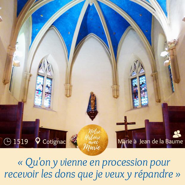 Marie et la France... 500 è anniversaire des App. à Notre Dame de Grâces. Notre-dame-graces-cotignac