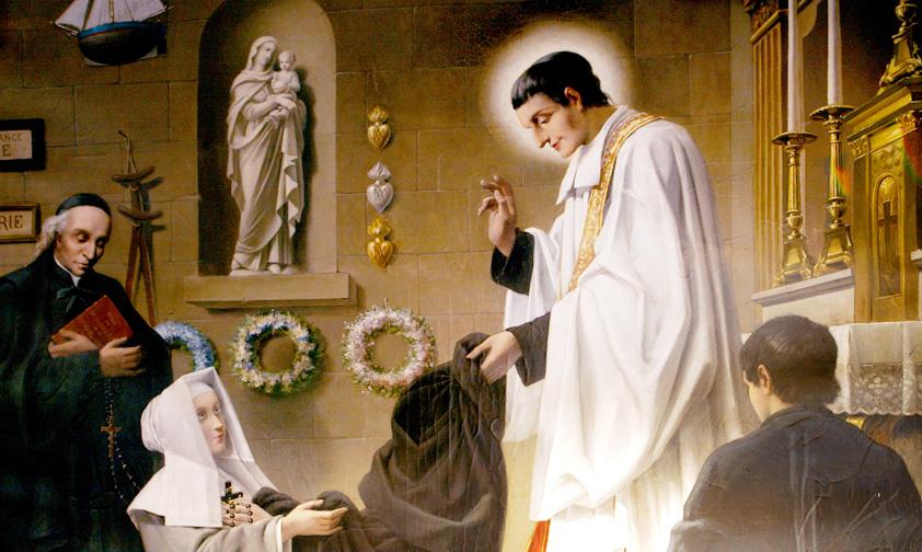 Saint Louis-Marie Grignion de Montfort révèle « le secret de Marie »