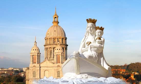 Notre-Dame de Boulogne-sur-Mer, l'un des pèlerinages les plus importants de l'Europe chrétienne