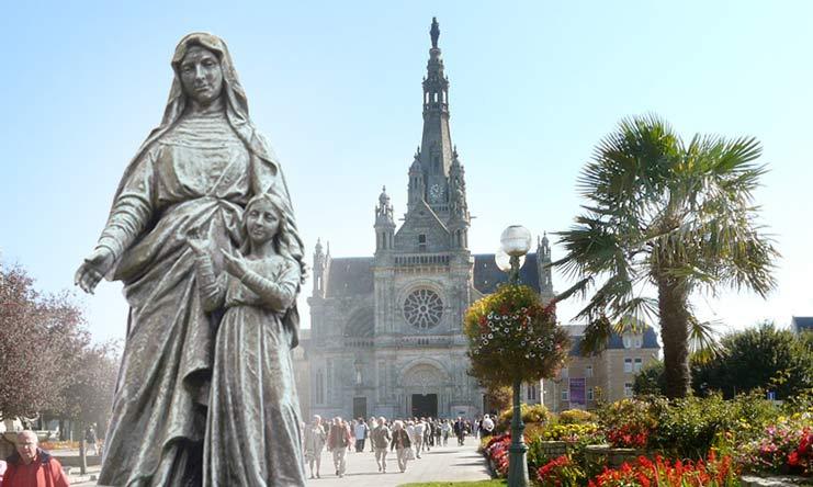 Sainte-Anne d'Auray, cœur spirituel du diocèse et de la Bretagne