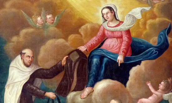 Le Scapulaire, habit de la Vierge Marie
