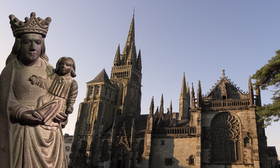 Notre-Dame du Folgoët, la protection d'une mère