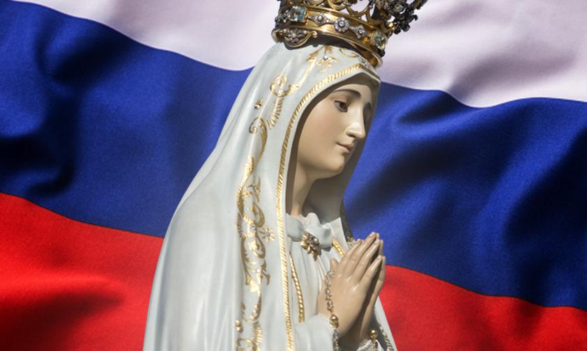 Marie demande la consécration de la Russie à son Cœur Immaculé