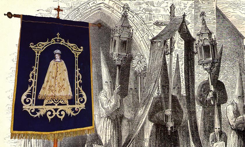 Les Pénitents d'Yssingeaux se confient à la Vierge Marie