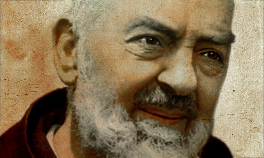 """Padre Pío, un santo """"para convertir a los hombres""""."""