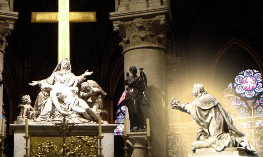 Le vœu de Louis XIII consacre la France à la Vierge