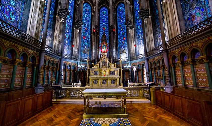 Notre Dame de la Treille, la chancelière de Lille