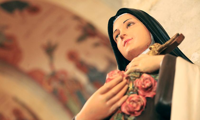 La Virgen María en la vida de Santa Teresa del Niño Jesús de la Santa Faz
