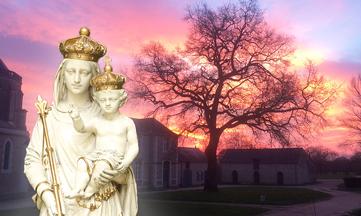 Notre-Dame du Chêne, reine du silence et de la compassion