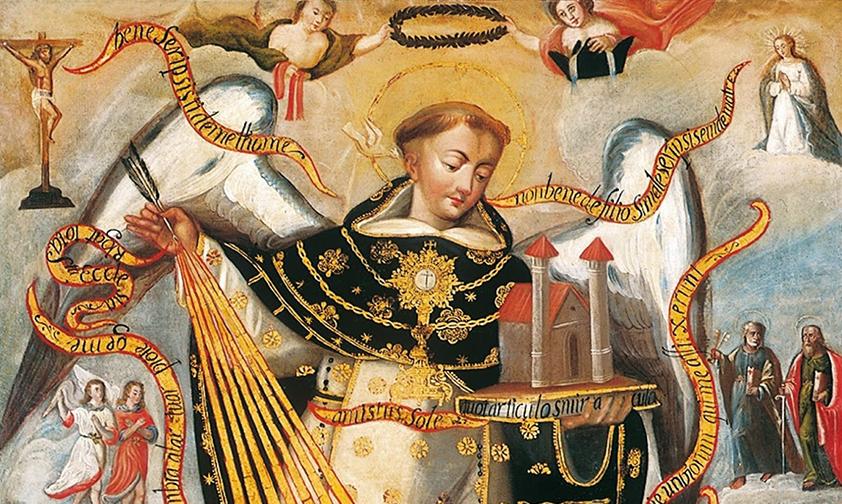 Thomas d'Aquin, un savant et un saint