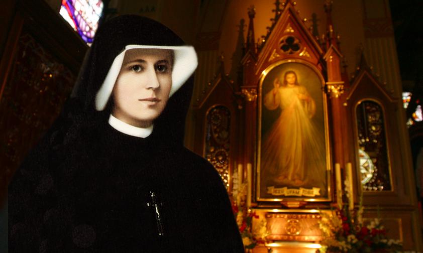 Sainte Faustine, apôtre de la Miséricorde Divine