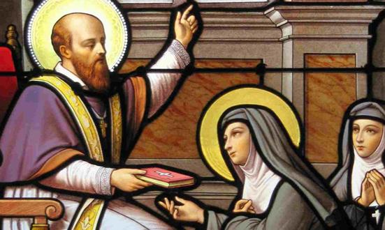 Sainte Jeanne de Chantal, au service des pauvres