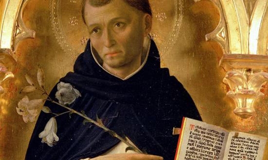 Saint Dominique confie son Ordre à la Vierge Marie