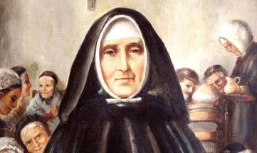 Jeanne Jugan, fondatrice des Petites Sœurs des Pauvres