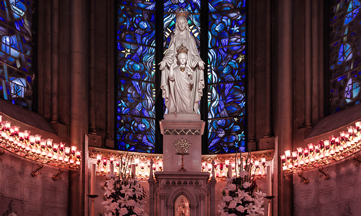 Notre-Dame du Sacré-Cœur honorée à Issoudun