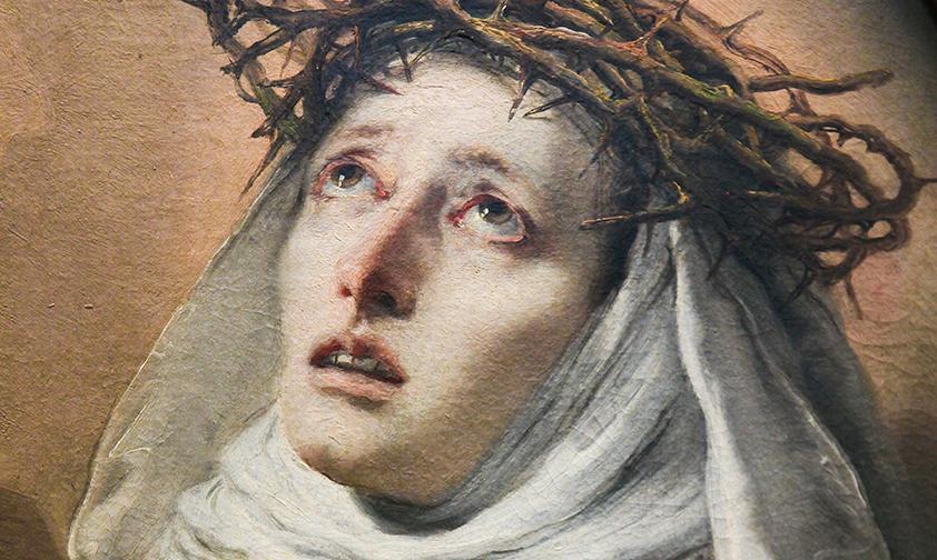 Catalina de Siena, la santa que más ha amado a la Iglesia
