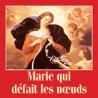 Marie défait des noeuds