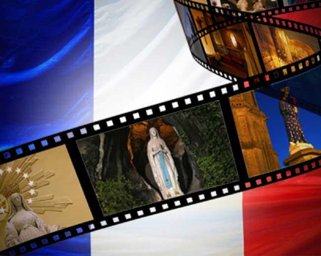 Deux films qui seront diffusés sur Internet:  «Marie et la France» et «Saint Joseph et la Sainte Famille»